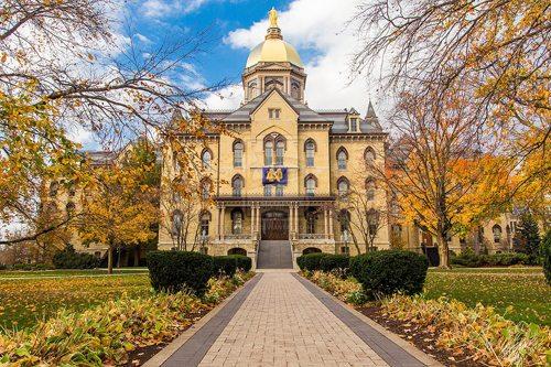 11. University of Notre Dame GÇô Notre Dame, Indiana