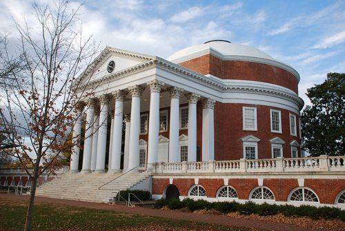 22. University of Virginia GÇô Charlottesville, Virginia