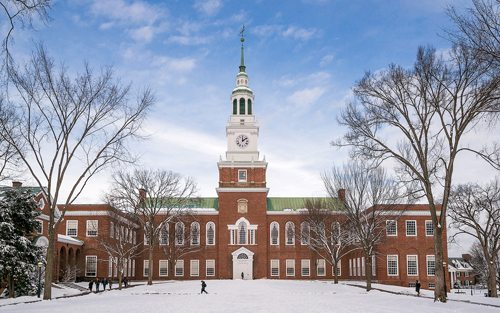 25. Dartmouth College GÇô Hanover, New Hampshire