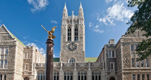 48. Boston College GÇô Chestnut Hill, Massachusetts