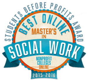 Best-Online-Master's-of-Social-Work-(MSW)-Students-Before-Profits-Award-2015-2016