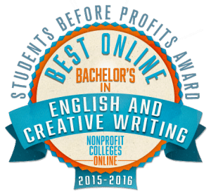 Creative Writing colleges rankings by major