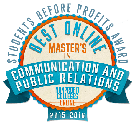 Public Relations universities with good communications programs