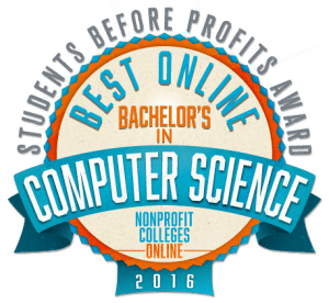 Best Online Bachelor's in Computer Science - Students Before Profits Award 2016