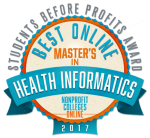 Best Online Master's in Health Informatics: Students Before Profits Award 2017