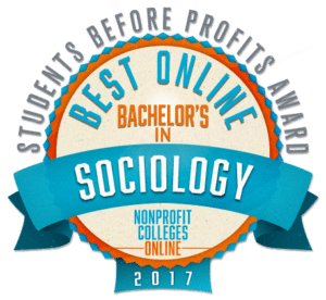 Best Online Bachelor's in Sociology - Students Before Profits Award 2017