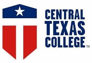 A logo of Central Texas College for our ranking of the top online colleges for military.