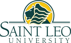 A logo of Saint Leo University for our ranking of the top colleges for online master's degrees.