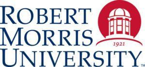 A logo of Robert Morris University for our ranking of the top colleges for online master's degrees.