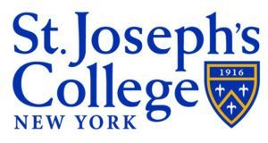A logo of St. Joseph's College for our ranking of the most affordable online schools in New York City.