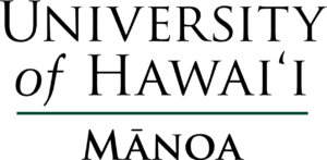 A logo of University of Hawaii for our ranking of the top colleges for online doctorate degrees.