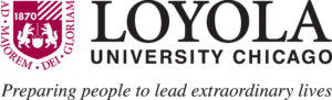 A logo of Loyola University Chicago for our ranking of the top colleges for online doctorate degrees.