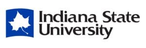 A logo of Indiana State University for our ranking of the most affordable bachelors of construction management.