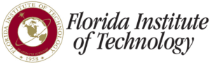 A logo of Florida Institute of Technology for our ranking of the most affordable masters of aerospace engineering degrees.
