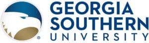 A logo of Georgia Southern University for our ranking of the most affordable certified midwifery programs.