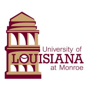 A logo of University of Louisiana at Monroe for our ranking of the most affordable bachelors of construction management.