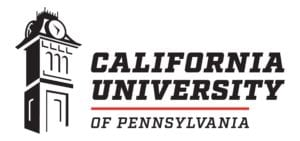 A logo of California University of Pennsylvania for our ranking of the top online colleges for military.