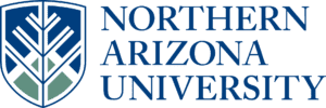 A logo of Northern Arizona University for our ranking of the top colleges for online master's degrees.