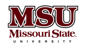 A logo of Missouri State University for our ranking of the top colleges for online master's degrees.