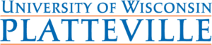 A logo of University of Wisconsin-Platteville for our ranking of the top online colleges for military.
