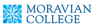 A logo of Moravian College for our ranking of the top PhD in sports management online.