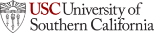 A logo of University of Southern California for our ranking of the most affordable masters of aerospace engineering degrees.