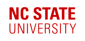 A logo of North Carolina State University for our ranking of the most affordable master's in genetics.