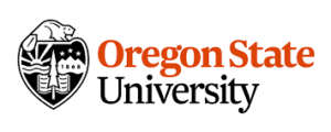 A logo of Oregon State University for our ranking of the top colleges for online master's degrees.