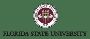 Logo of FSU for our ranking of speech language pathology programs