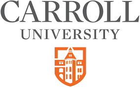 A logo of Carroll University for our ranking of Most Affordable Animal Behavior Degrees