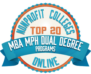 Top 20 MBA MPH badge