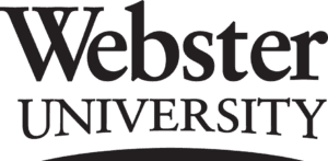 A logo of Webster University for our ranking of the top colleges for online master's degrees.