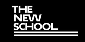 A logo of The New School for our ranking of the most affordable online schools in New York City.
