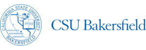 A logo of California University-Bakersfield for our ranking of the top online colleges for military.