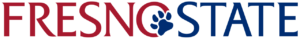 A logo of Fresno State University for our ranking of the top online colleges for military.