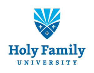 A logo of Holy Family University for our ranking of the most affordable online schools in Philadelphia.