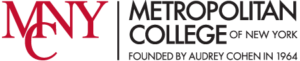 A logo of Metropolitan College of New York for our ranking of the most affordable online schools in New York City.