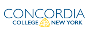 A logo of Concordia College New York for our ranking of the most affordable online schools in New York City.