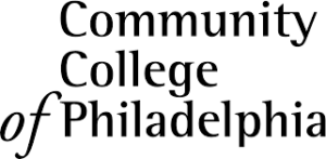A logo of Community College of Philadelphia for our ranking of the most affordable online schools in Philadelphia.