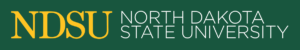A logo of North Dakota State University for our ranking of the most affordable bachelors of construction management.