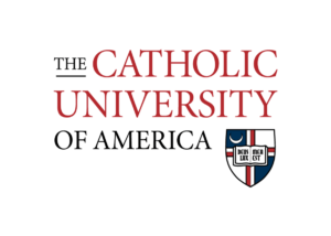 A logo of The Catholic University of America for our ranking of the top colleges for online doctorate degrees.